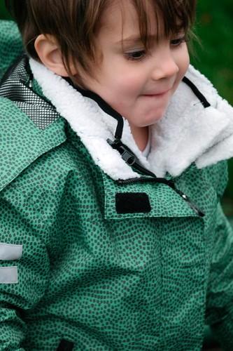 Kurtka całoroczna dla dziecka 3 w 1 z polarem sherpa, Jane, rozmiar 3 4 lata (98 104)